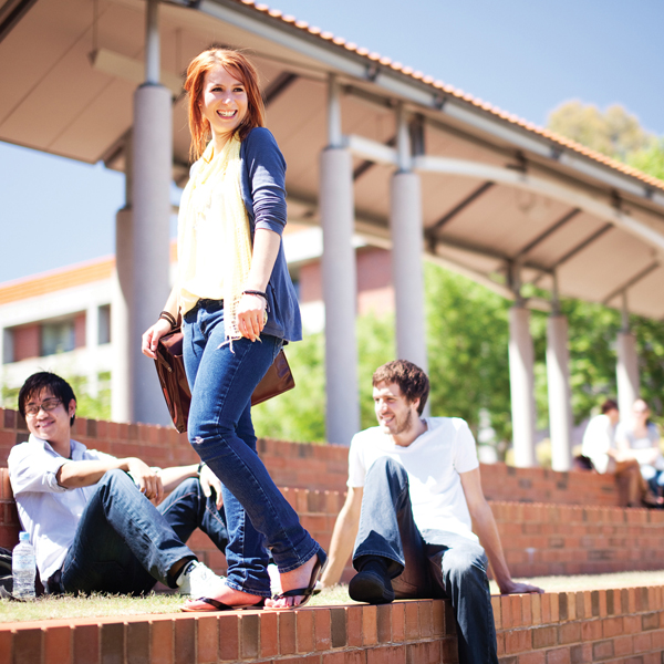 Curtin University international students