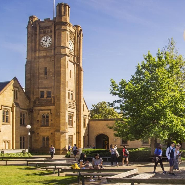 australia student visa time University of Melbourne